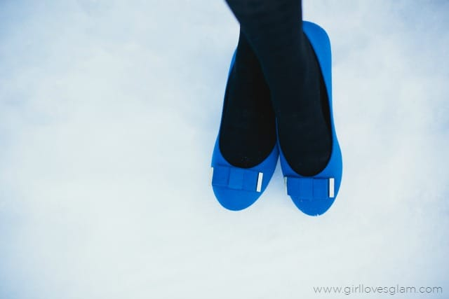 Payless Cobalt Blue Shoes on www.girllovesglam.com