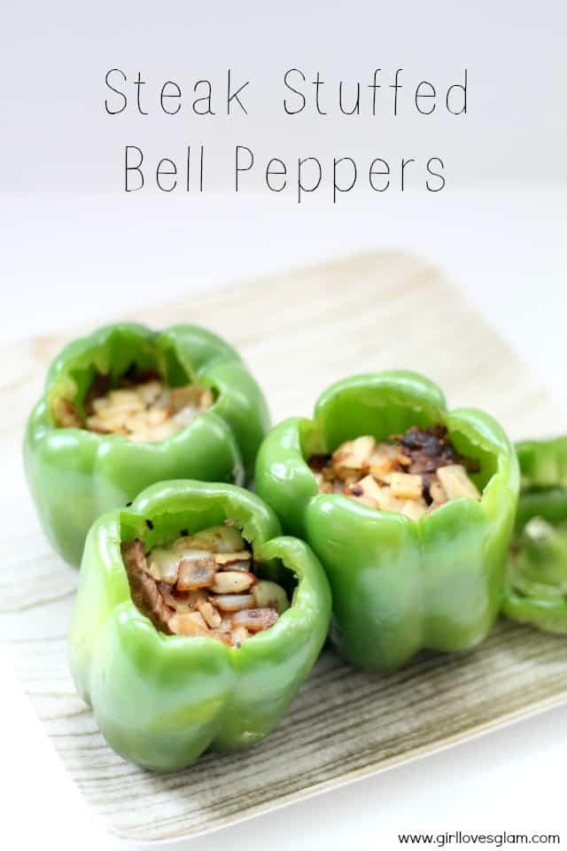 Stuffed Bell Pepper Recipe on www.girllovesglam.com