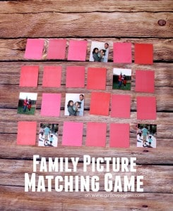 Family Picture Matching Game on www.girllovesglam.com