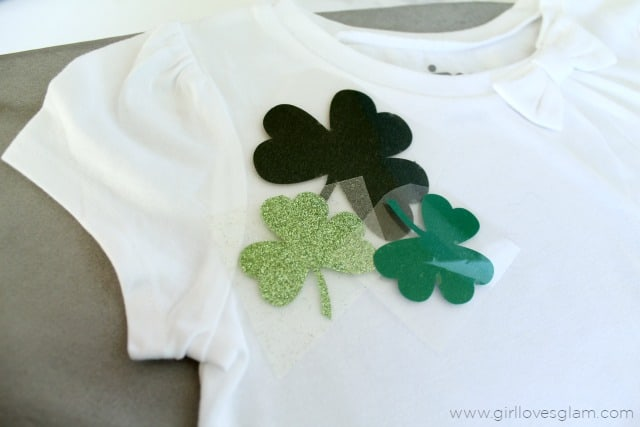 Shamrock Shirt DIY on www.girllovesglam.com
