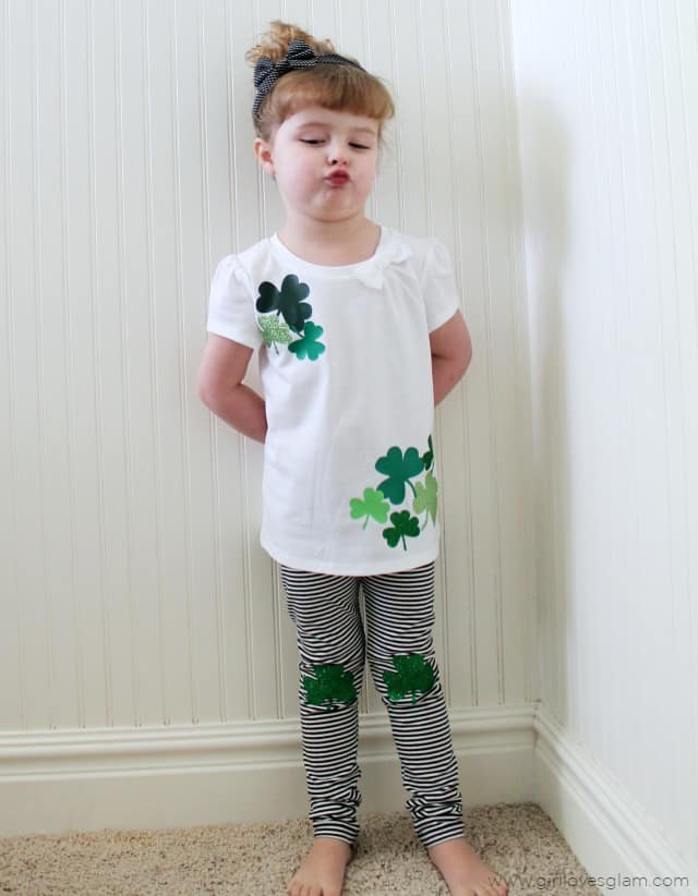 St. Patrick's Day DIY Outfit on www.girllovesglam.com