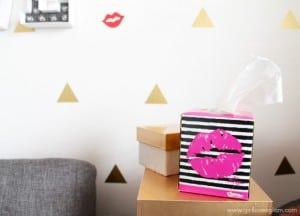 Betsey Johnson Kleenex on www.girllovesglam.com