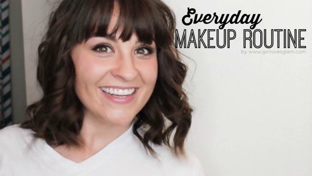 Everyday Makeup Routine on www.girllovesglam.com