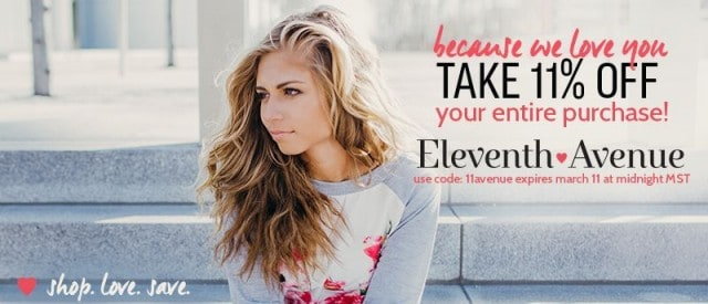 Eleventh Avenue Coupon Code