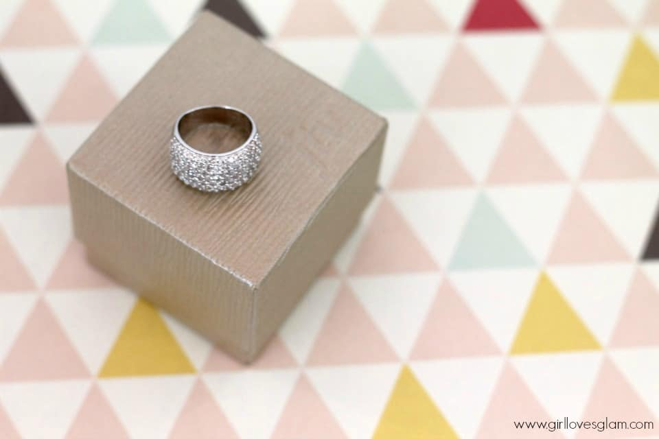 Silver Ring Giveaway on www.girllovesglam.com