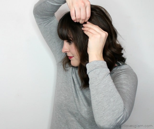 Twisted Hairstyle on www.girllovesglam.com