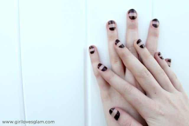 Color Block Nail Art on www.girllovesglam.com