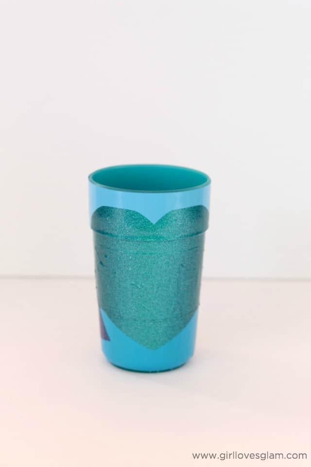 Easy DIY Elsa Cup on www.girllovesglam.com