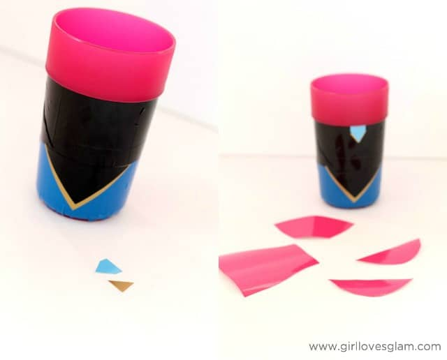 Make your own frozen cup on www.girllovesglam.com