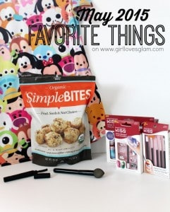 May 2015 Favorite Things on www.girllovesglam.com