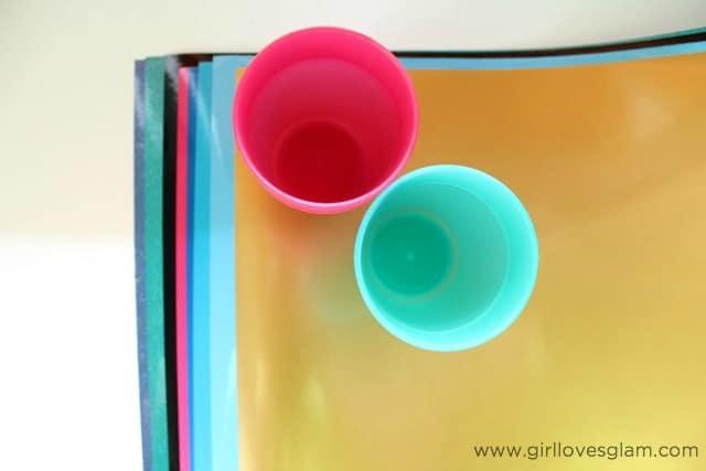 Easy Frozen Vinyl Craft on www.girllovesglam.com