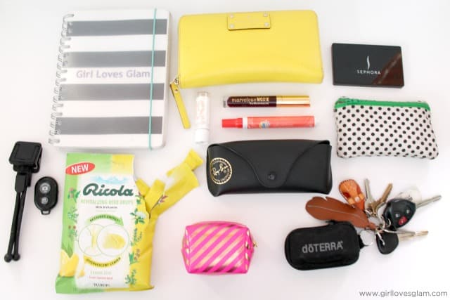 Bag Contents on www.girllovesglam.com #swissherbs