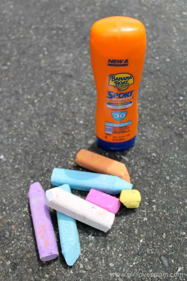 Banana Boat Sport Sunscreen on www.girllovesglam.com