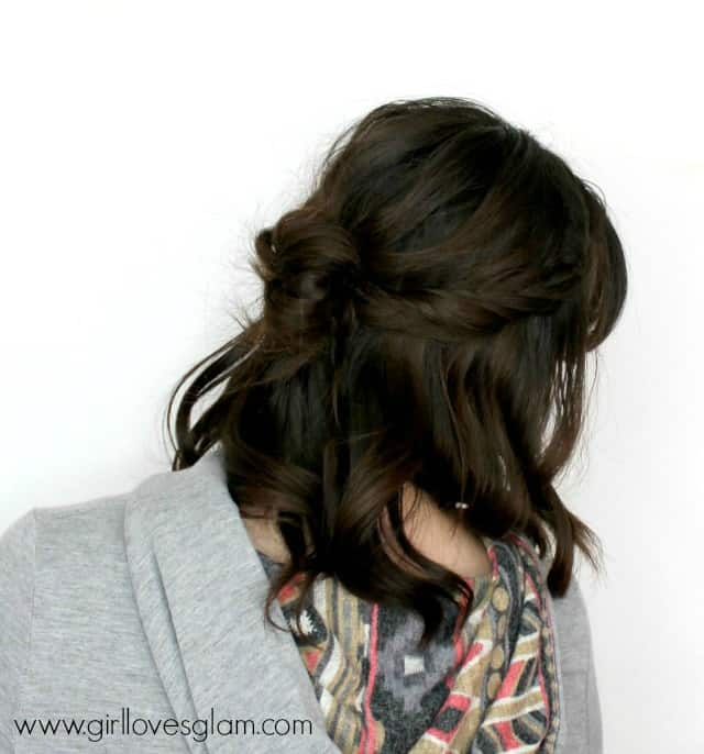 Easy Braid Hairstyle Tutorial on www.girllovesglam.com
