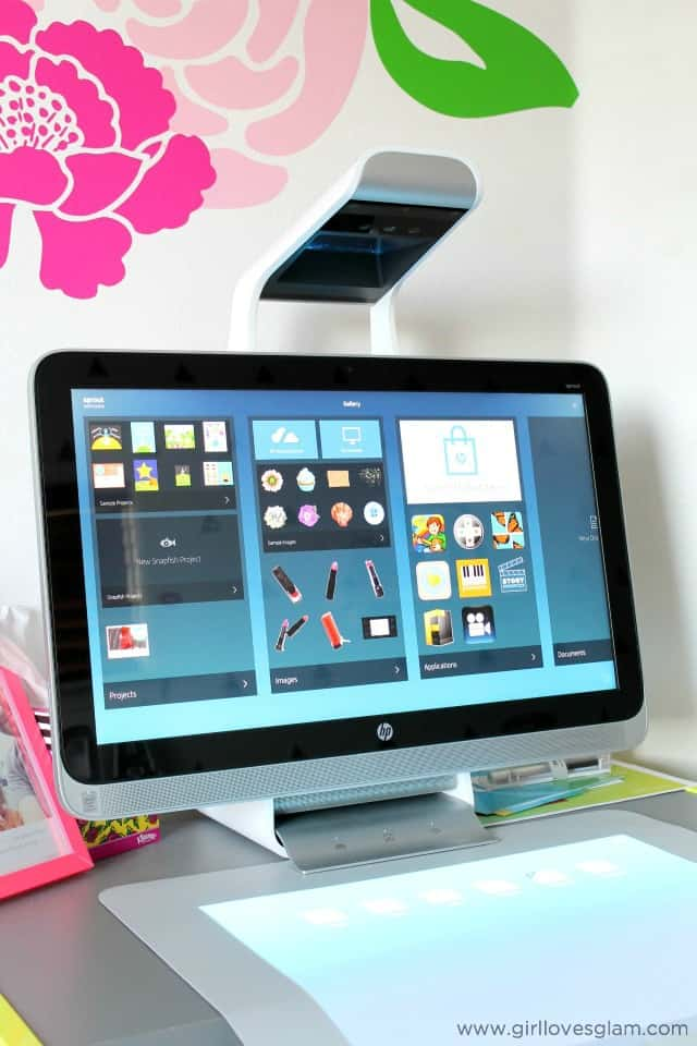 HP Sprout Computer on www.girllovesglam.com