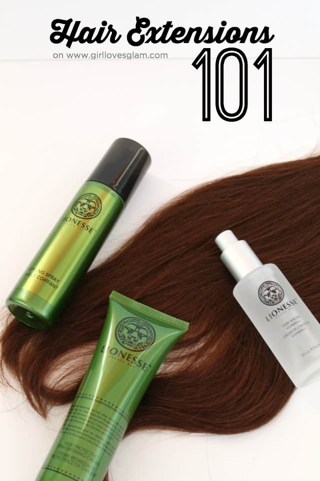 Hair Extensions 101 on www.girllovesglam.com