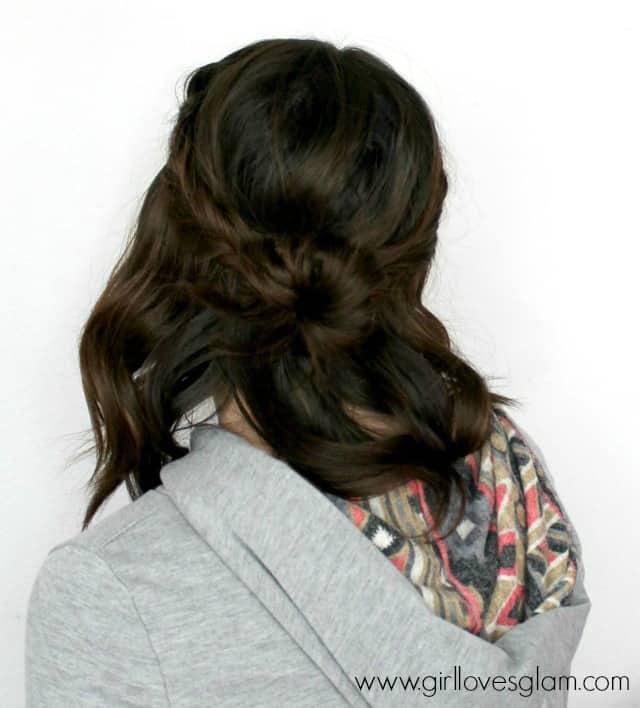 Hair Tutorial on www.girllovesglam.com