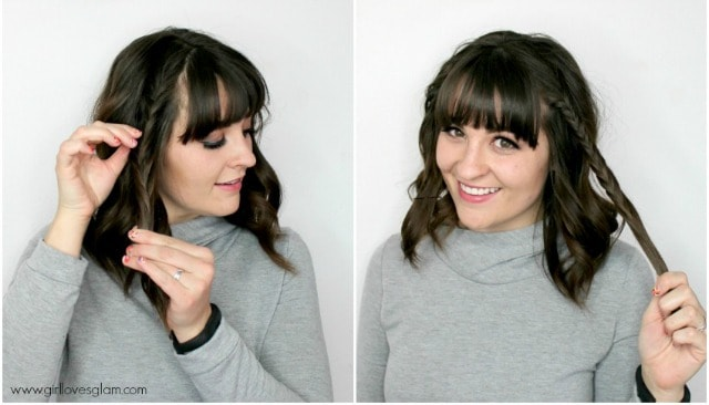 Easy Braid Hairstyle on www.girllovesglam.com