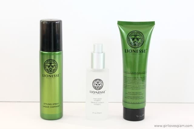 Lionesse Hair Products for extensions on www.girllovesglam.com