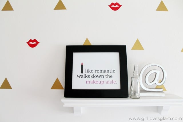 Makeup Quote Printable on www.girllovesglam.com