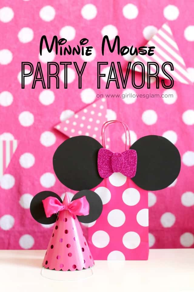 Minnie Mouse Party Favors on .girllovesglam.com & Minnie Mouse Party Favors - Girl Loves Glam