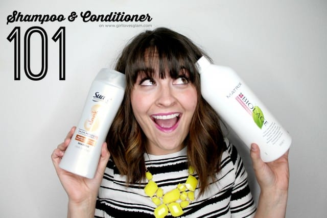Shampoo and Conditioner 101 Video on www.girllovesglam.com