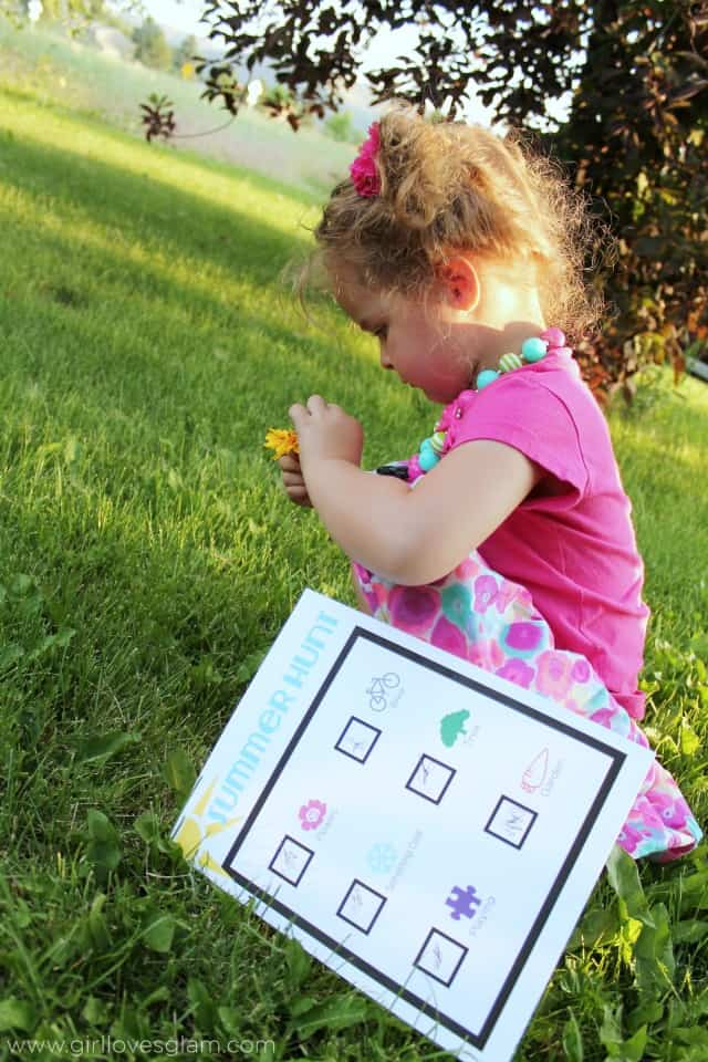 Summer Preschool Activity Printable on www.girllovesglam.com