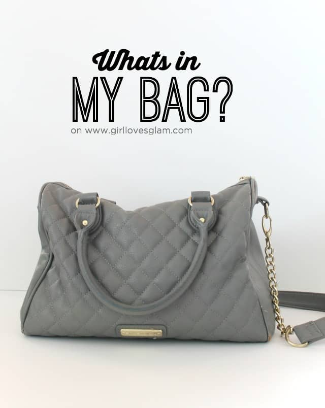 What's in my bag? on www.girllovesglam.com #swissherbs