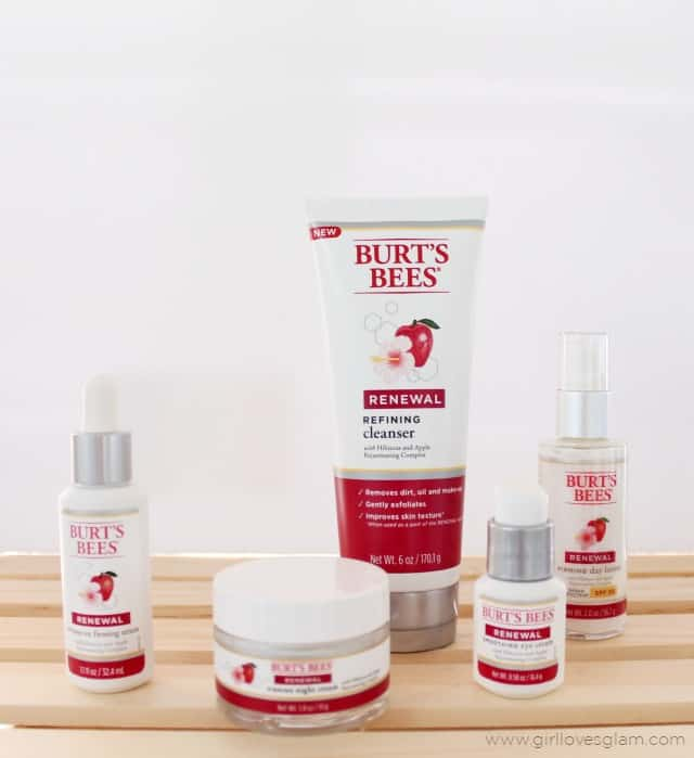 Burt's Bees Renewal Products on www.girllovesglam.com