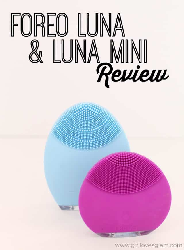 FOREO Luna and Luna Mini Review on www.girllovesglam.com