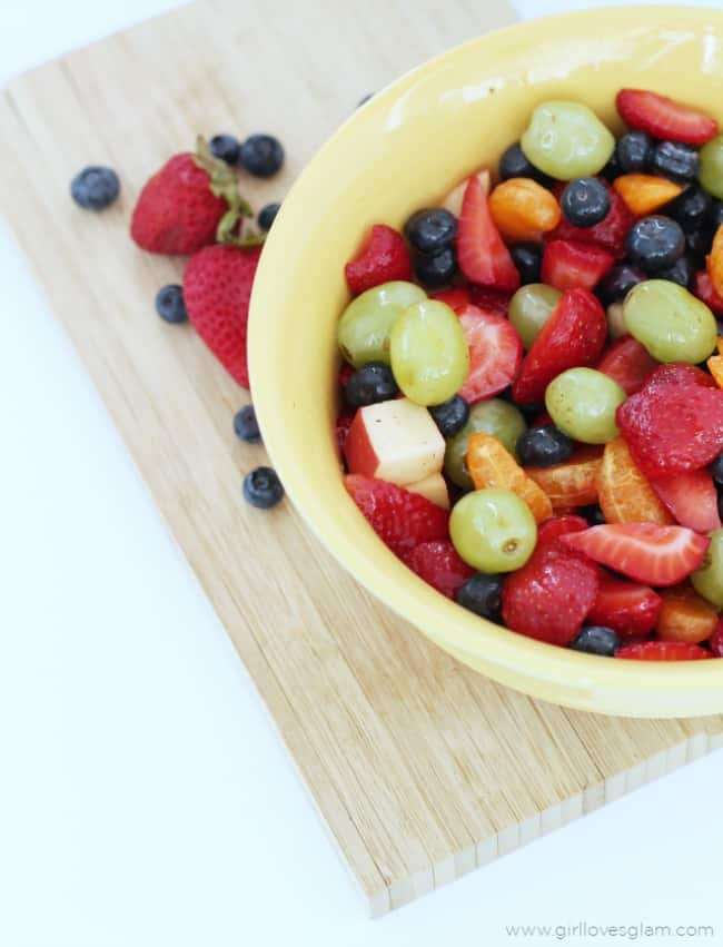Fruit Salad Honey Lime Sugar Syrup - Girl Loves Glam