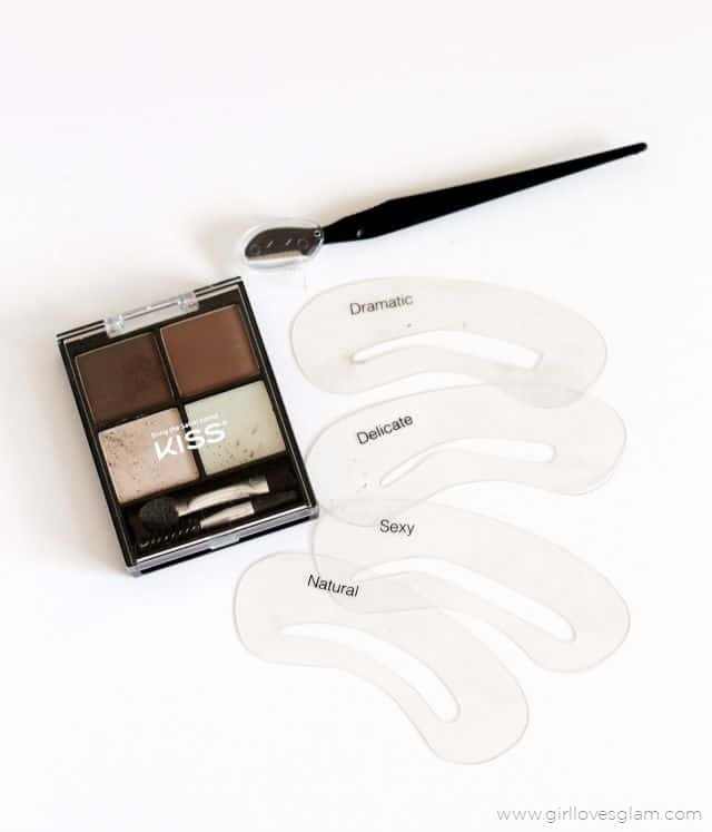 Eyebrow Stencil Kit on www.girllovesglam.com
