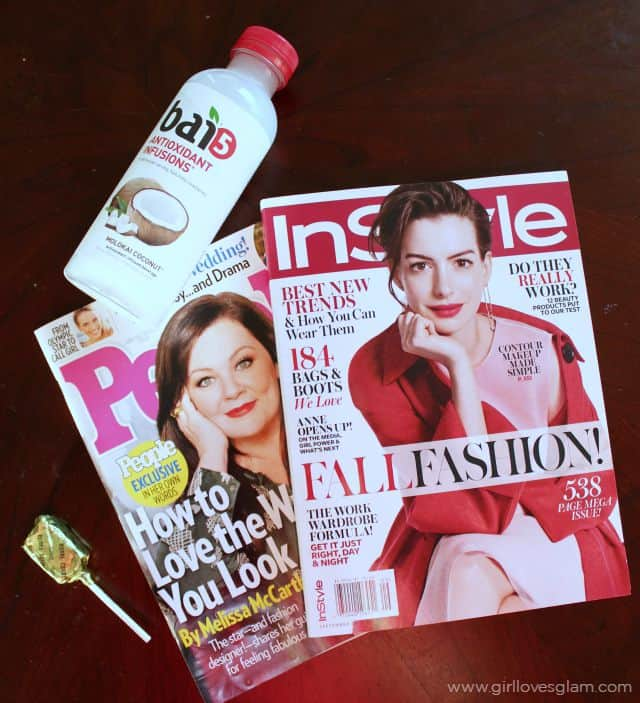 InStyle and People Magazine on www.girllovesglam.com