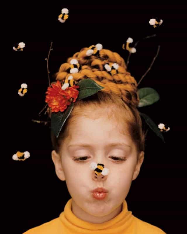 Beehive Halloween Hairstyle