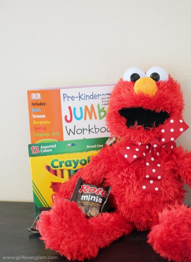 Easy Elmo Gift Idea on www.girllovesglam.com