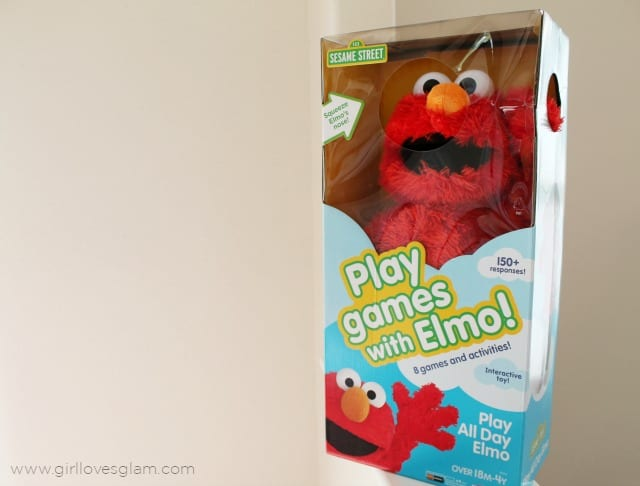Elmo Play All Day on www.girllovesglam.com