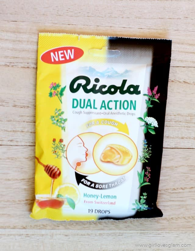 Ricola Dual Action on www.girllovesglam.com #SwissHerbs
