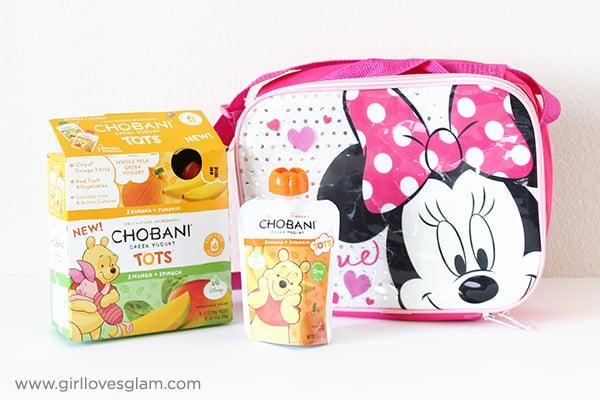 Chobani Tots Yogurt Lunch Idea