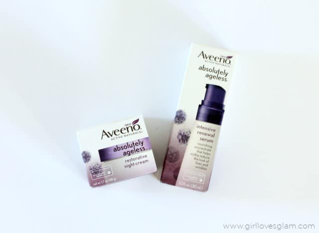Aveeno Absolutely Ageless on www.girllovesglam.com