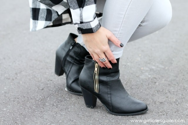 Awesome Black Fall Boots on www.girllovesglam.com