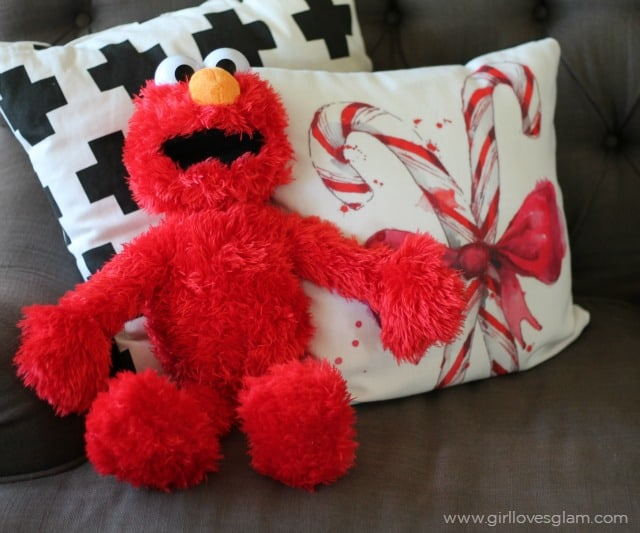 Elmo Christmas Gift Idea on www.girllovesglam,.com