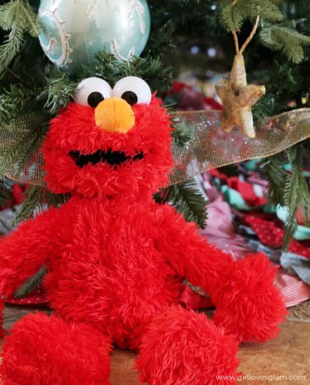 Christmas Gift Idea For Elmo Lovers Girl Loves Glam
