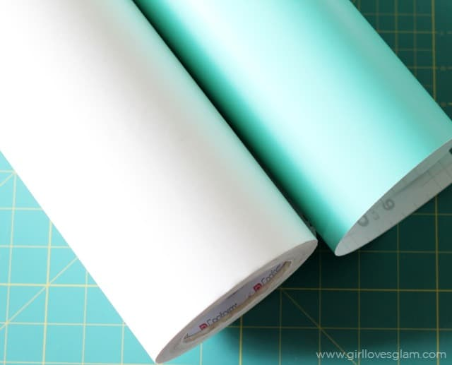 How to apply craft vinyl on www.girllovesglam.com