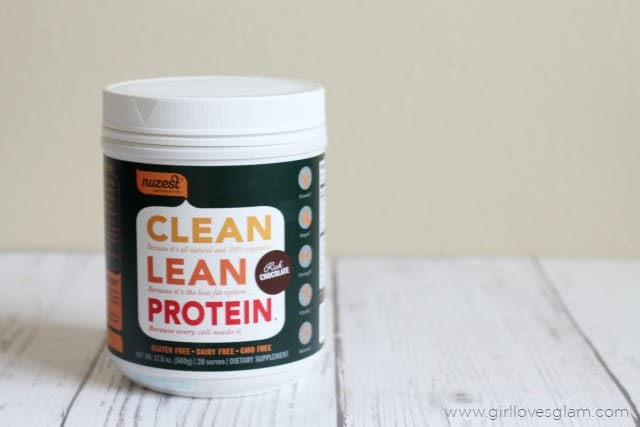 NuZest Chocolate Protein on www.girllovesglam.com