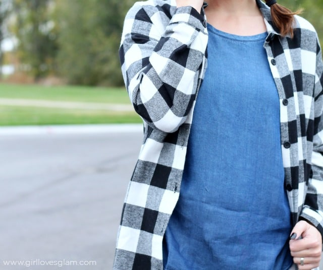 Practical Fashionable Fall Outfit on www.girllovesglam.com
