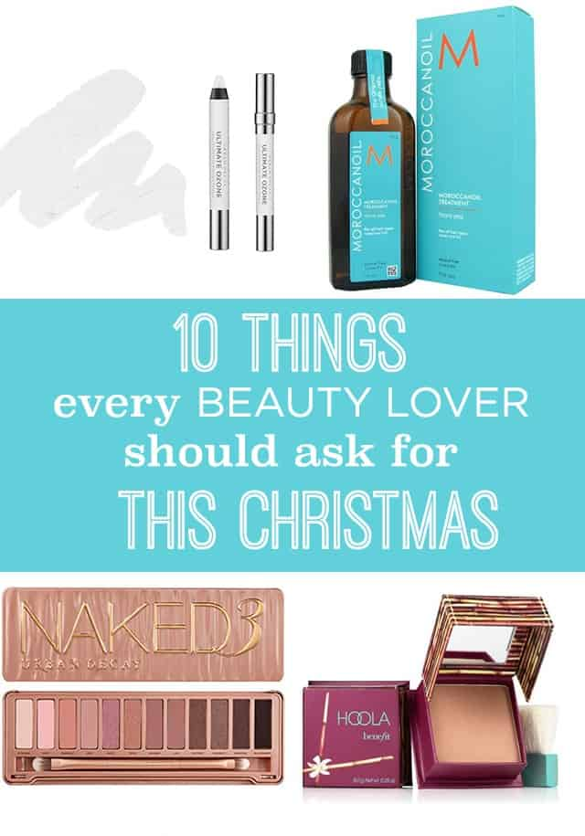 Beauty Christmas Wish List on www.girllovesglam.com