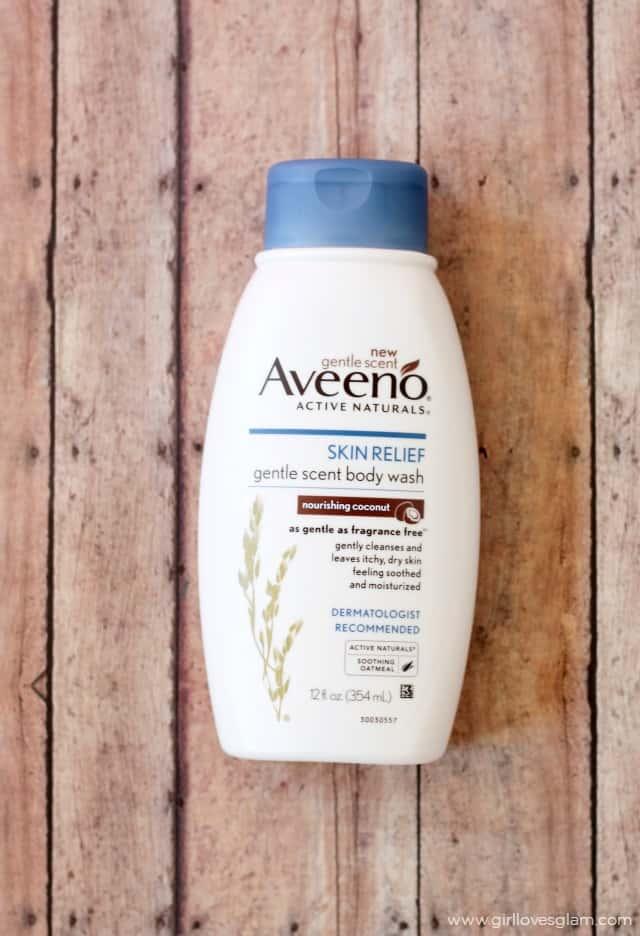Aveeno Skin Relief Gentle Scent Body Wash on www.girllovesglam.com