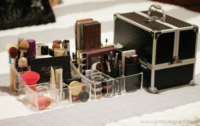 Makeup Organizer on www.girllovesglam.com