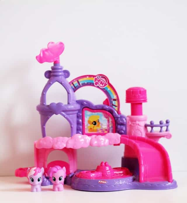 My Little Pony Castle on www.girllovesglam.com