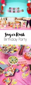 Sugar Rush Birthday Party on www.girllovesglam.com